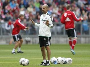 Guardiola, técnico do Bayern