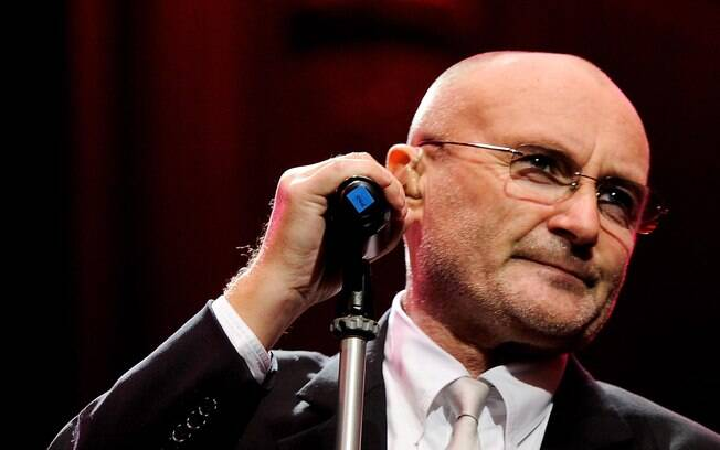O cantor Phil Collins