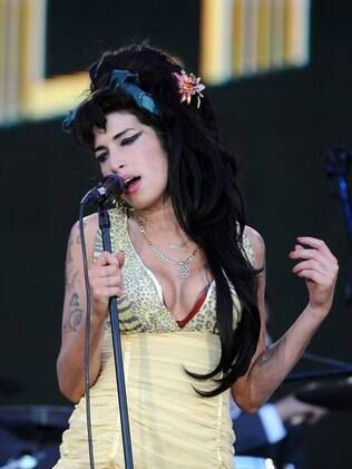 A cantora Amy Winehouse