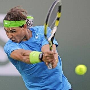 Nadal avançou para as oitavas de final em Indian Wells