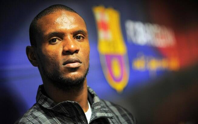 Eric Abidal, lateral esquerdo do Barcelona
