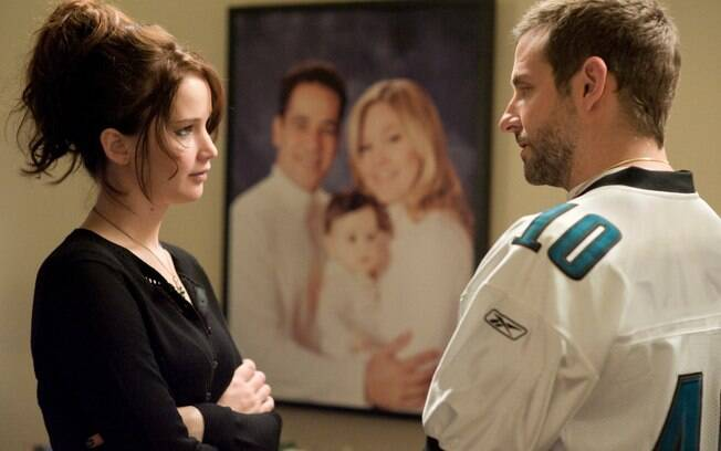 Jennifer Lawrence e Bradley Cooper em 'Silver Linings Playbook'