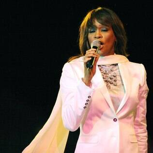 Whitney Houston em 2008