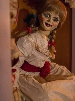 Cena do filme 'Annabelle'