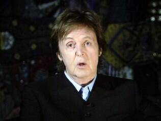 O músico Paul McCartney