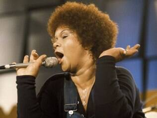 Etta James no Montreux Jazz Festival, em 1975