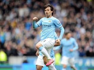 David Silva, meia do Manchester City