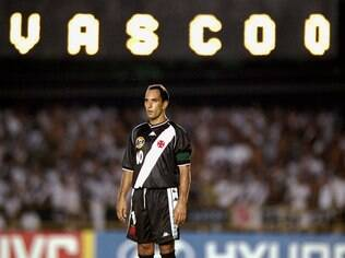 Edmundo, ex-atacante do Vasco
