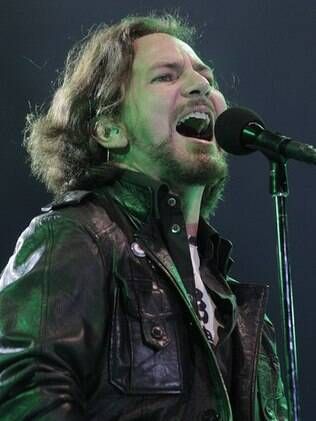 Eddie Vedder, vocalista do Pearl Jam