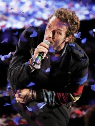 Chris Martin, vocalista do Coldplay