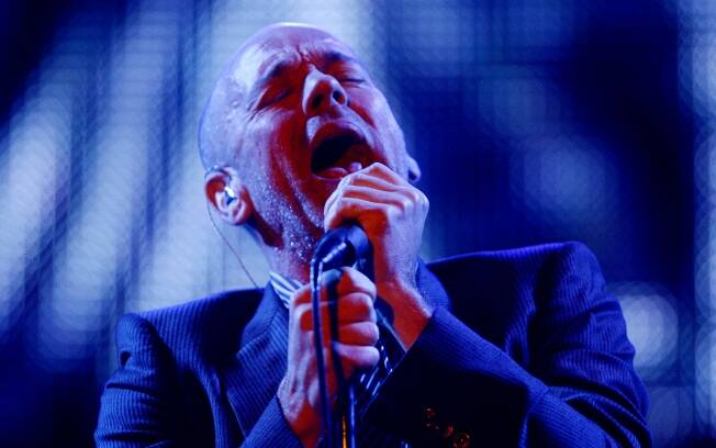 Michael Stipe, vocalista do grupo R.E.M.