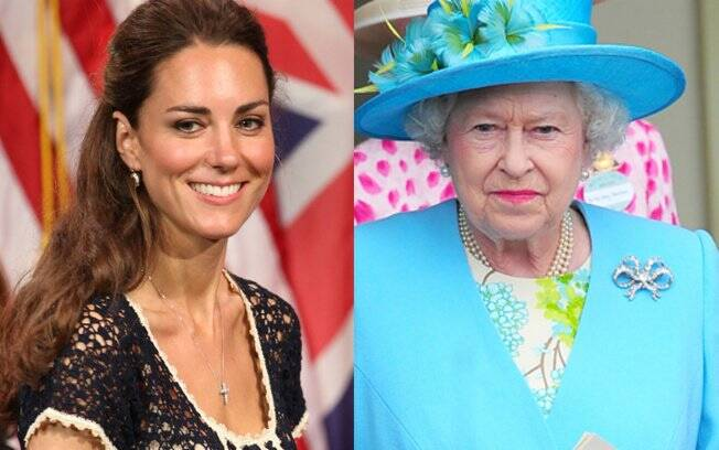 Kate Middleton e Rainha Elizabeth