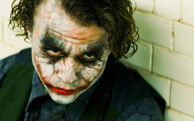 Heath Ledger viveu o Coringa no filme aclamado