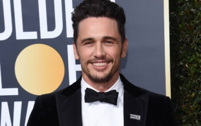James Franco no Globo de Ouro no último domingo (7)