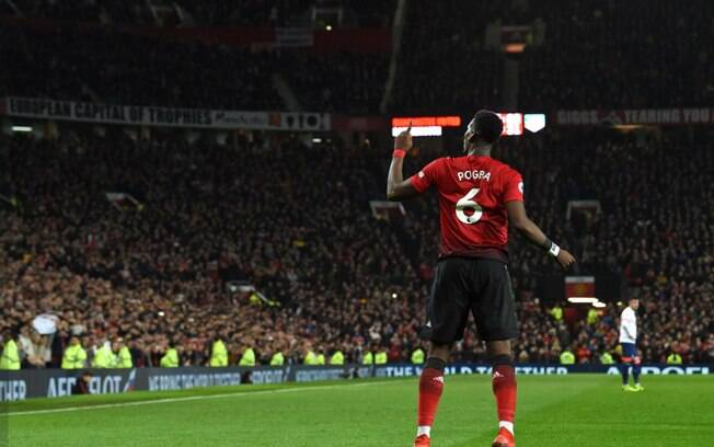 Paul Pogba foi o destaque do United na 20ª rodada da Premier League
