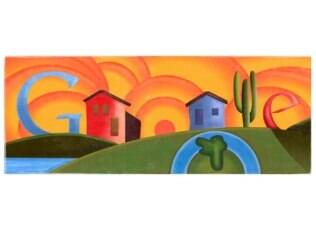 Homenagem do Google a Tarsila do Amaral