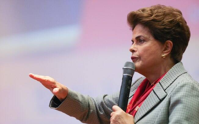 Presidente afastada Dilma Rousseff voltou a defender seu mandato durante evento na Universidade Federal do ABC