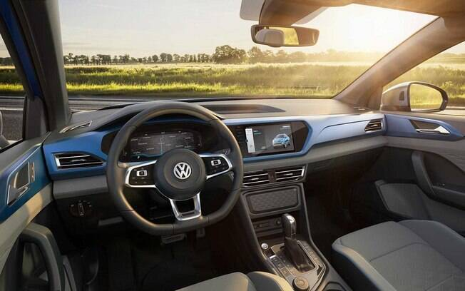 Interior da VW Tarok