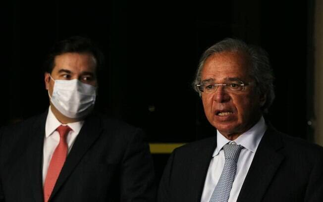 maia e paulo guedes