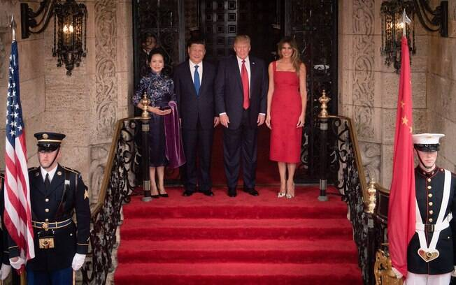 trump e presidente da china