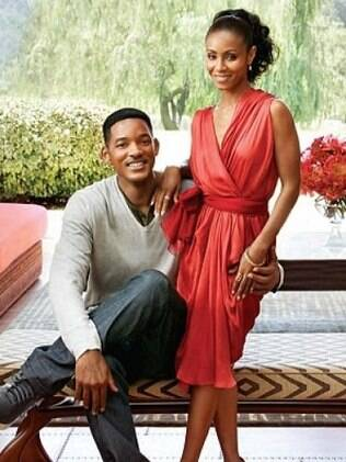 Will Smith e a esposa, Jada Pinkett Smith