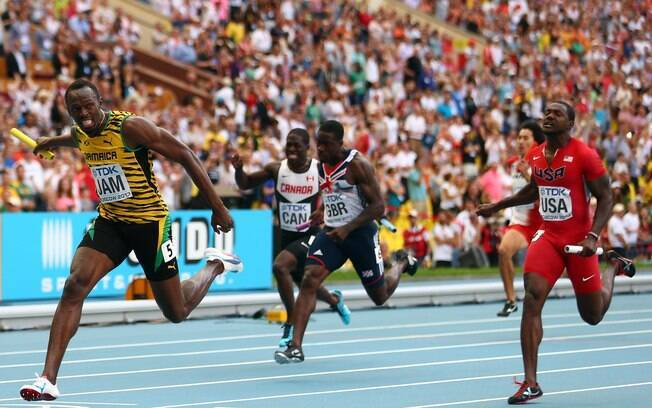 No Mundial de 2013, Bolt superou Gatlin