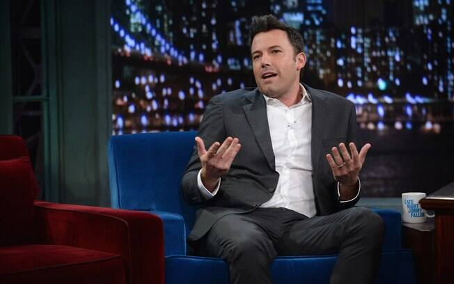 Ben Affleck participa do programa de Jimmy Fallon em Nova York (16/09)