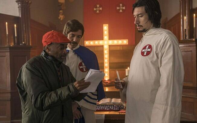 Spike Lee, Topher Grace e Adam Driver