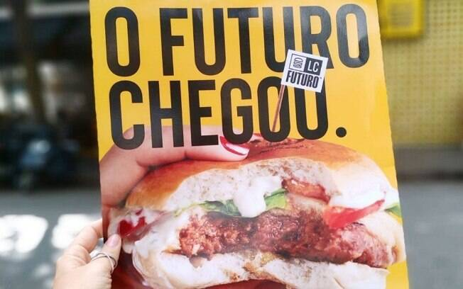 Propaganda do Hambúrguer do Futuro