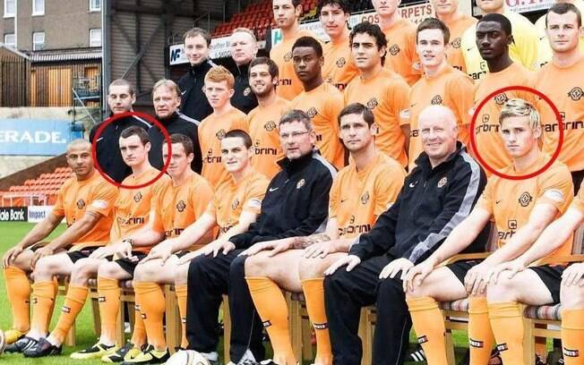 Robertson e Goodwillie no Dundee United