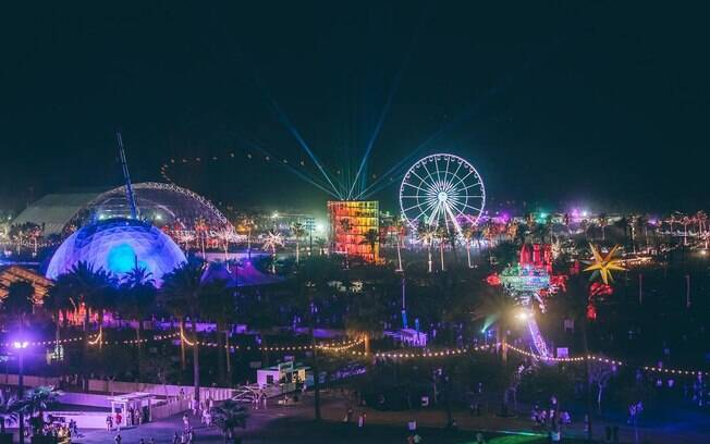 Foto do Festival Coachella de 2018