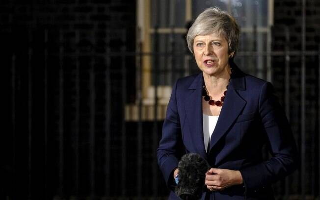 Primeira-ministra do Reino Unido, Theresa May