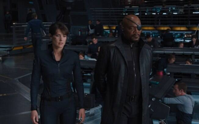 maria Hill e Nick Fury