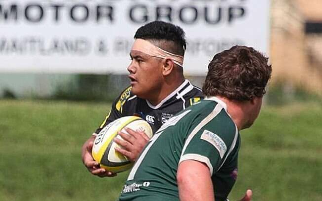 Mark Meafua, jogador australiano do Maitland Blacks