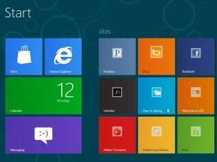 Windows 8 é o sistema dos tablets Surface