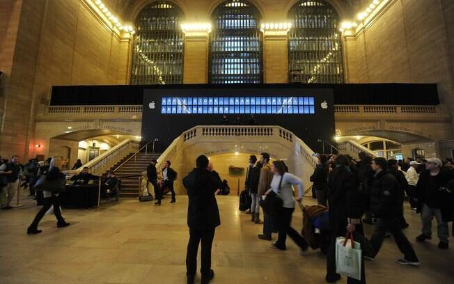 Apple Store Grand Central não ficou pronta para a Black Friday