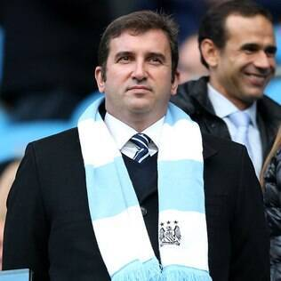 Ferran Soriano, diretor-executivo do Manchester City