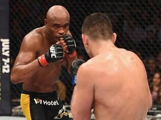 Anderson Silva e Nick Diaz foram flagrados no antidoping