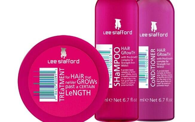 Kit Tratamento para Cabelos Hair Growth Lee Stafford