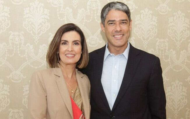 Fátima Bernardes e William Bonner