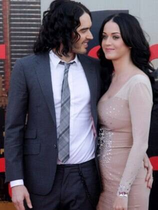 Katy Perry e Russell Brand