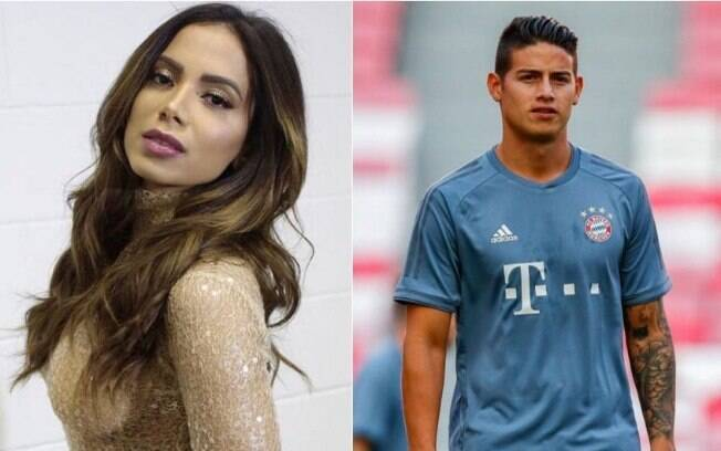 Anitta e James Rodriguez