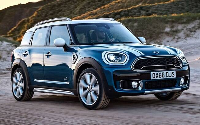 Mini Countryman azul