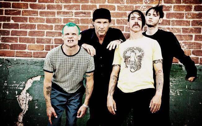 O Red Hot Chili Peppers lança o álbum