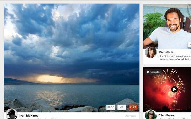 Aplicativo do Google+ para o iPad