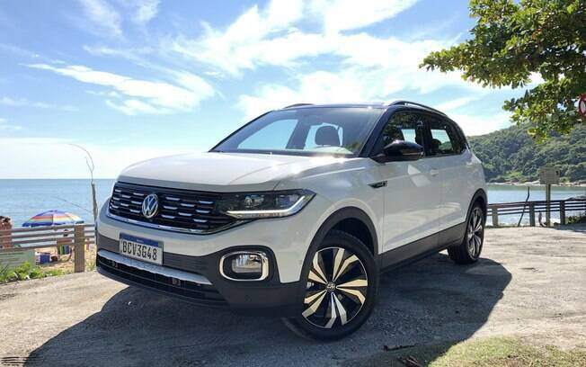 vw t cross 2019 aceleramos o novo suv compacto da marca. Black Bedroom Furniture Sets. Home Design Ideas