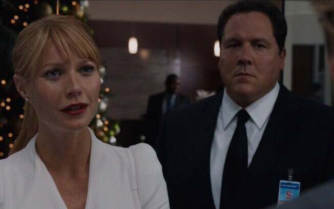 Pepper Potts e Happy Hogan