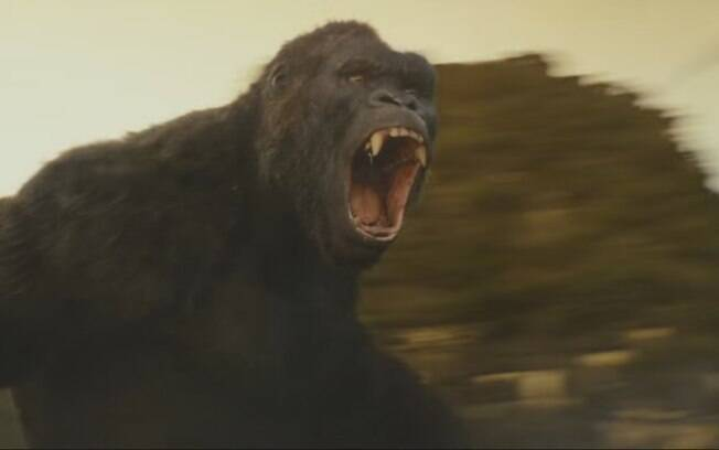 O novo filme do King Kong mostra o gorila mais feroz do que nunca