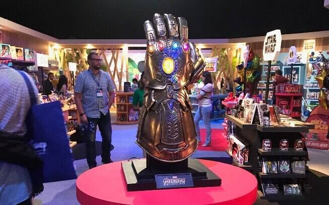 manopla de thanos