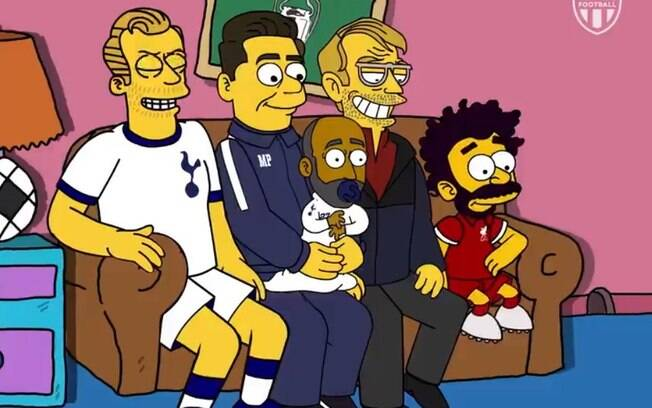 the simpsons final da champions